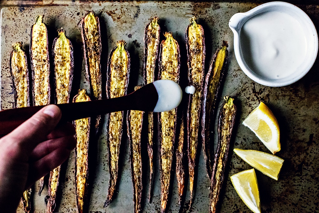 cumin & cardamom roasted carrots | plant-based gluten free recipes via sweet miscellany