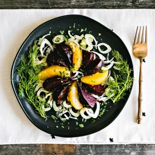 loam collaboration: beet, orange, & fennel salad | plant based goodness via the sweet miscellany blog