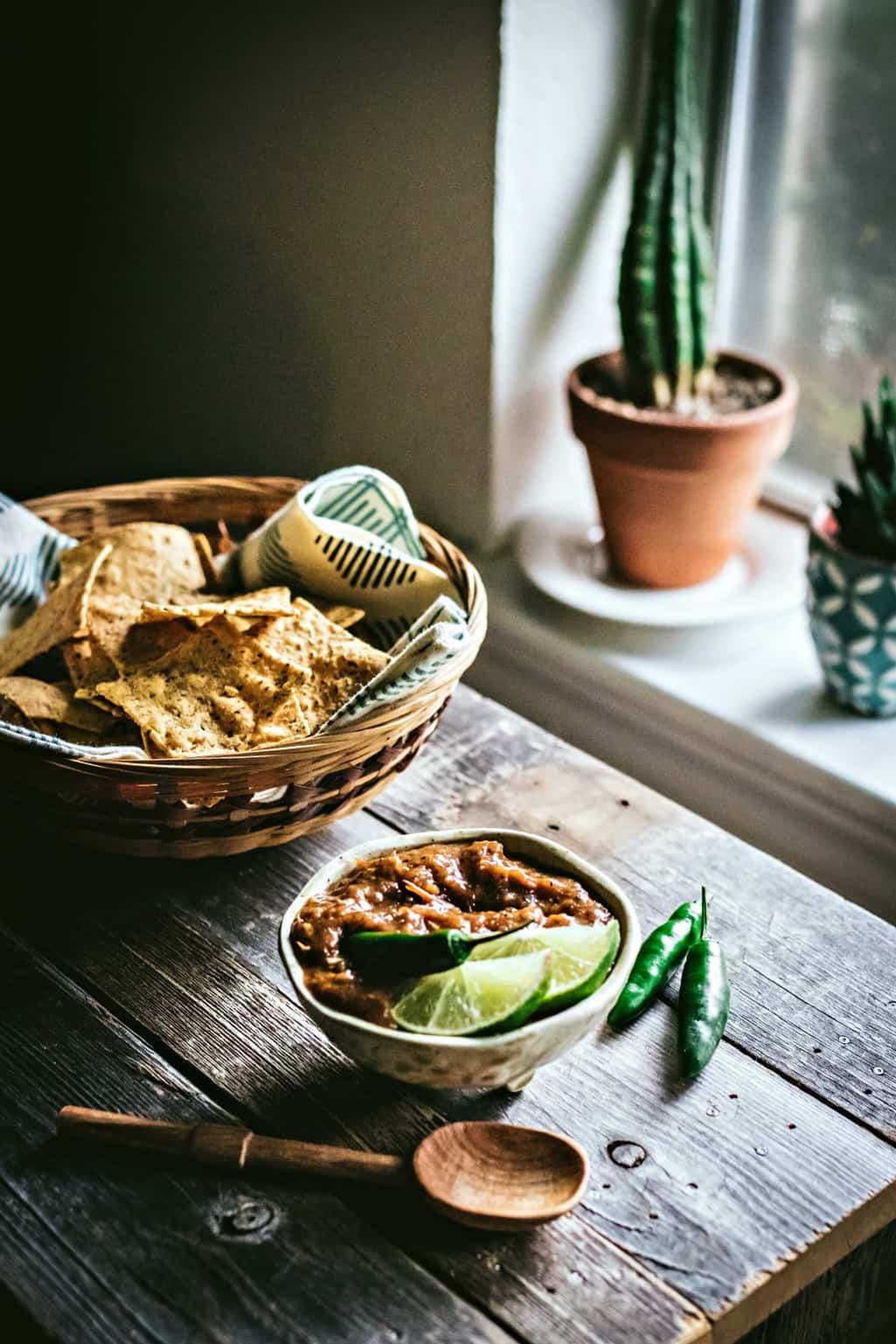 Roasted Garden Salsa | sweet miscellany