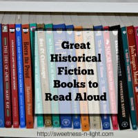 Great Historical Fiction Books to Read Aloud