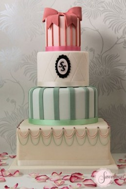 London wedding cakes, vintage wedding cake