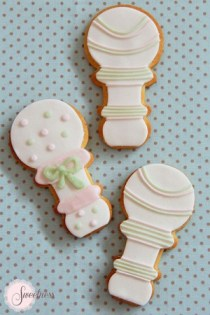 Baby shower cookies London