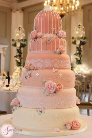Birdcage wedding cake, Wedding Cakes London