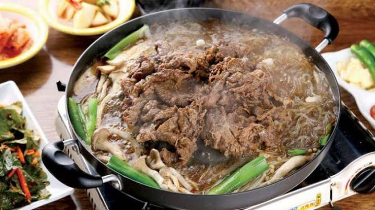 بولغوغي – لحم مشوي (الشواء الكوري الحلو)