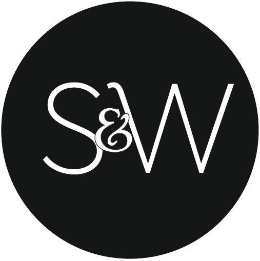 Vintage Leather Ottoman | Sweetpea & Willow