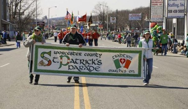 Join the Sweetpea Float in Worcester County St. Patrick's Parade