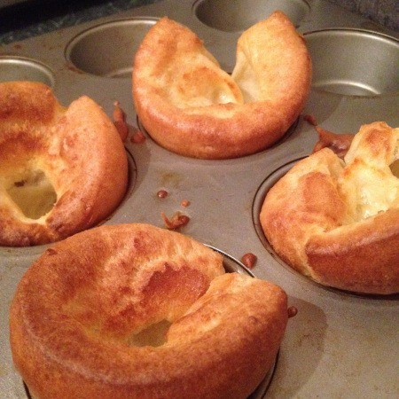 Easy Yorkshire Puddings for Two