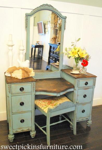Before After Antique Vanity Sweet Pickins Furniture