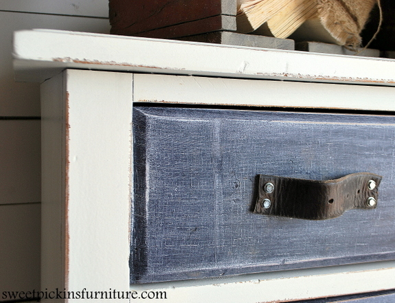 Sweet Pickins Denim Treatment Dresser