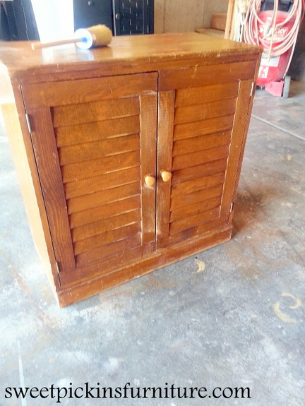 Sweet Pickins Furniture - Milk Paint Cabinet
