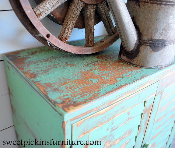 Sweet Pickins - Milk Paint Cabinet
