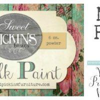 Sweet Pickins Milk Paint 101