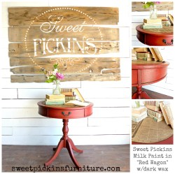 Sweet Pickins Milk Paint - Red Wagon
