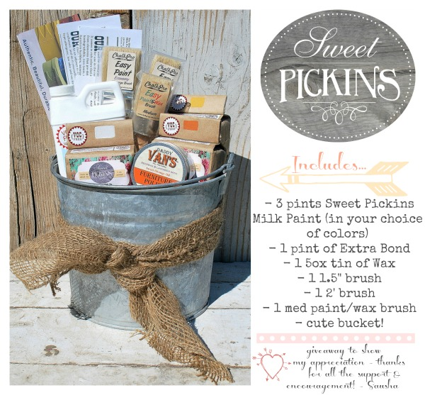 Sweet Pickins Milk Paint Giveaway