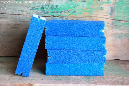 Sweet Pickins Furniture - Sanding Block