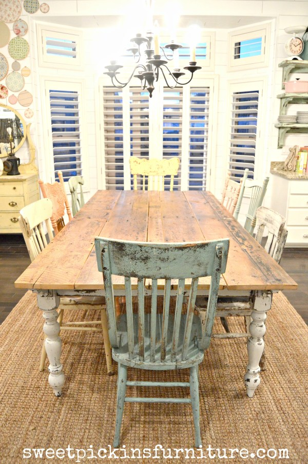 Sweet Pickins - farm table