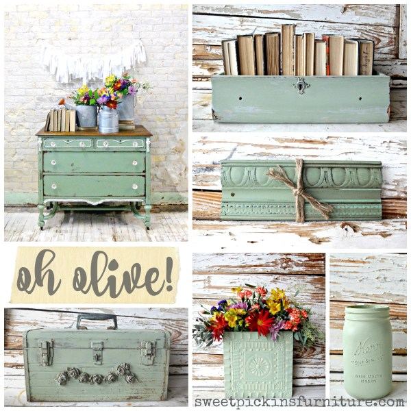 Sweet Pickins Milk Paint - Oh Olive!