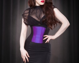 Kiss me Deadly Underbust Silk Day Corset