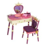 Princess Vanity Table & Chair Set by Levels of Discovery