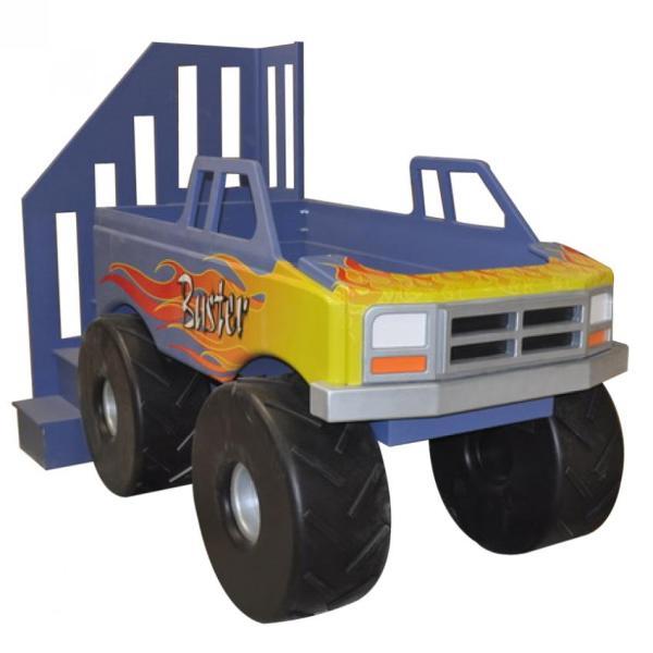 Monster Truck Kids Bed