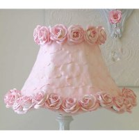 Pink Rose Petal Lamp Shade
