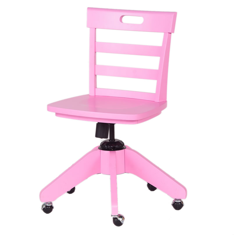 desk chair pink swing for 5 year old kid s chairs by maxtrix kids thumbnail 4