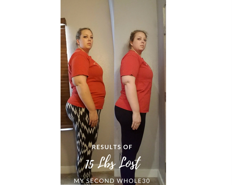 2nd Whole30 Results