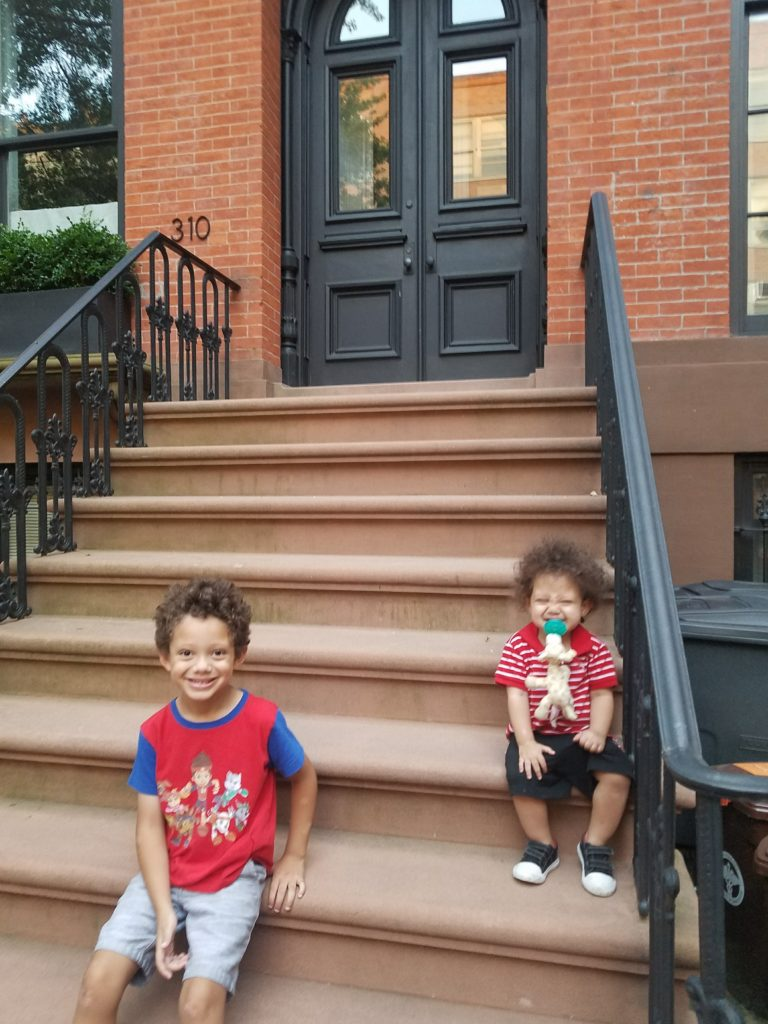 Damany's Front Steps