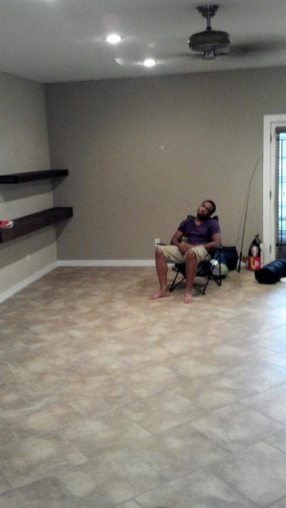 Moving In Our First House