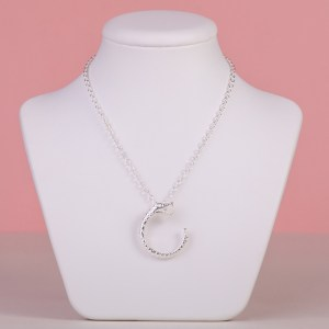 Serpent Necklace - Silver