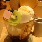 サントリー美術館 shop×cafe『不室屋パフェ』