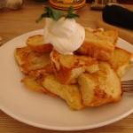 CAFE chanoma『カルーア風味のフレンチトースト』
