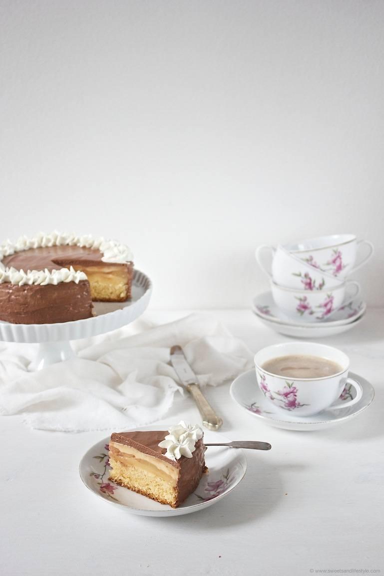 Birnen Schokomousse Torte  Sweets  Lifestyle