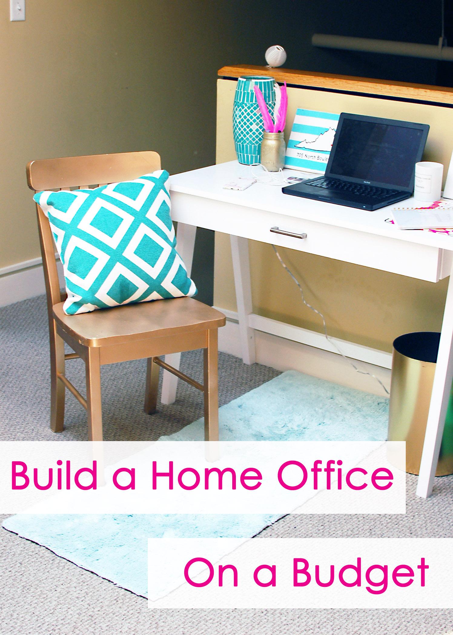 home office on a budget. Home Office On A Budget N