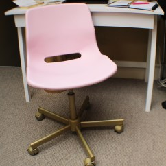 Hot Pink Office Chair Sex Ikea Upgrade Getting Organized With Goodwill