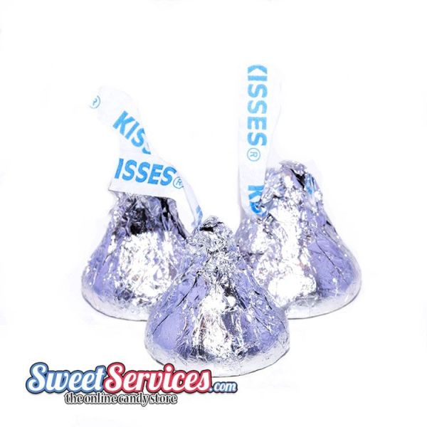 Hershey Silver Kisses Chocolate Kisses Sweetservices