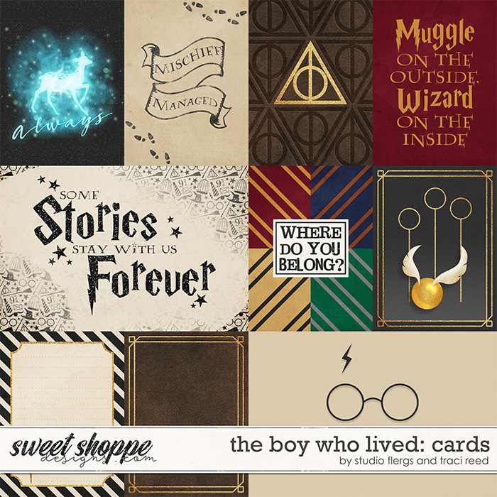 The Boy Who Lived COLLECTION by Studio Flergs  Traci Reed
