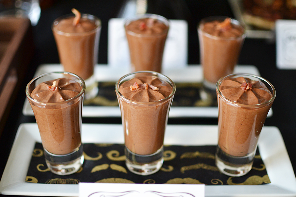 Jack Daniels Whiskey Chocolate Mousse Part Of The Jack