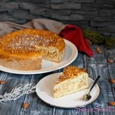 Gedeckter Apfelkuchen … (vegan)