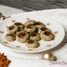 Mohn-Marzipan-Kekse … (vegan)