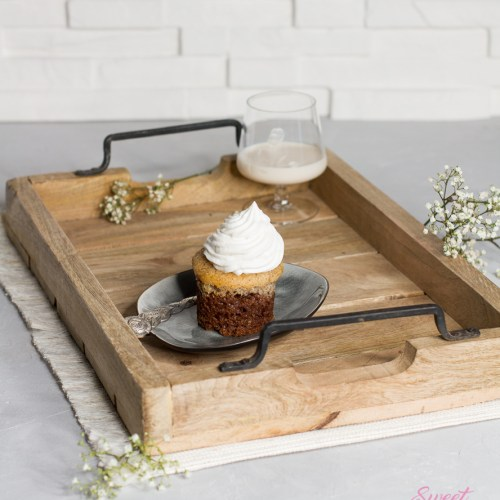 Baileys-Mandel-Cupcakes … (vegan)