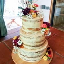 Hochzeitstorte – Semi Naked Cake (3 unterschiedliche Rezepte) … (vegan)