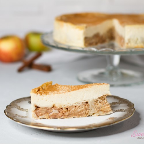 Apfelstrudel-Cheesecake … (vegan)