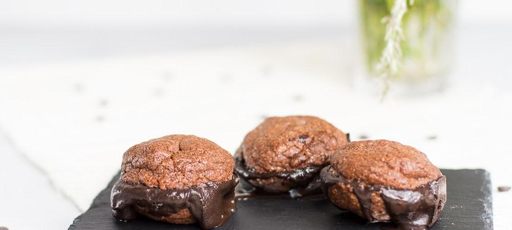 Schokoladeeis und Schoko-Cookies … (vegan)