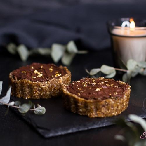 Schoko-Nuss-Tartelette (vegan, raw)