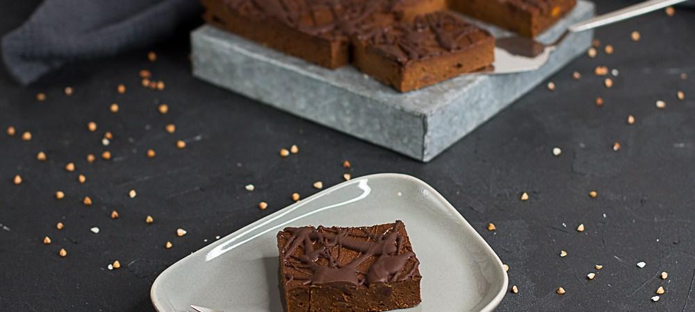 Süßkartoffel-Brownie … (vegan, gf)