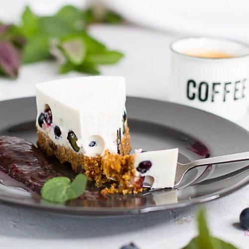 Blitzrezept: Panna Cotta-Torte… (vegan)