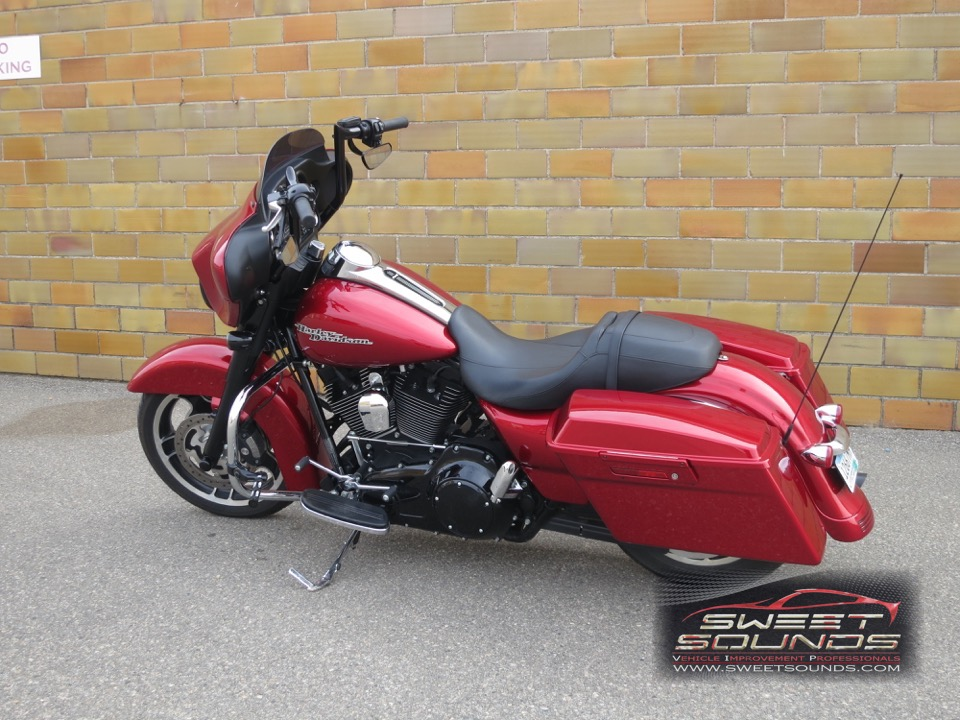 2012 Harley Street Glide Red Sweet Sounds