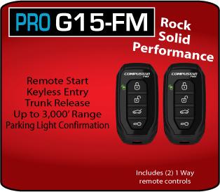 Compustar RF-P1wG15-FM (G15-FM)