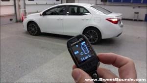 Toyota Corolla Remote Starting System